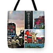 Mol Maestro Collage Tote Bag
