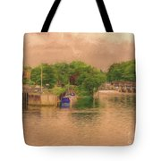 Molesey Lock And Weir Tote Bag