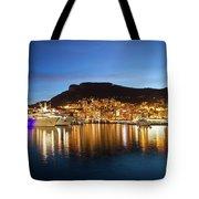 Monaco At Twilight Tote Bag