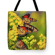 Monarch Gathering 2 Tote Bag