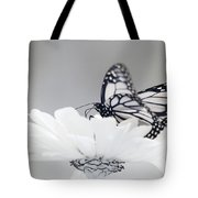 Monarch In Infrared 5 Tote Bag by Brian Hale