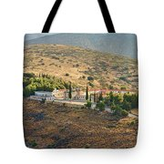 Monastery Agion Anargiron Above Argos Tote Bag