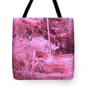 Monochromerose Countyroad Tote Bag