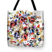 Monster Toy Soldiers Tote Bag