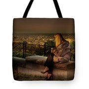 Mont-royal Sunset Tote Bag by Juan Contreras