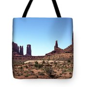 Monument Cluster Tote Bag