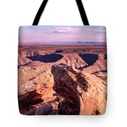 Monument Valley At A Distance Tote Bag