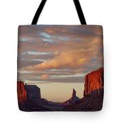 Monument Valley Sunset Tote Bag