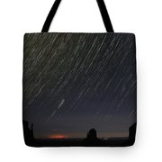 Monumental Star Trails Tote Bag