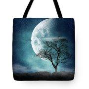 Moon Blues Tote Bag