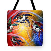 Moon Dance 4 Tote Bag