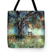 Moonlight Shadows Tote Bag