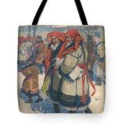 Moravian Slovaks In The Winter Tote Bag