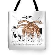 More Giraffes Tote Bag