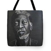 Morgan Freeman Tote Bag by Richard Le Page