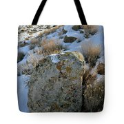 Morning At The Book Cliffs Tote Bag