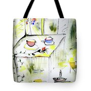Morning By The Artist Catalina Lira Tote Bag