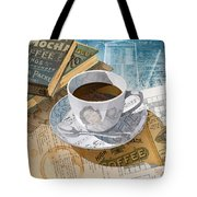 Morning Coffee Tote Bag by Clint Hansen