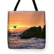 Morning Flight Serenity Tote Bag