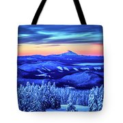 Morning From Timberline Lodge Tote Bag