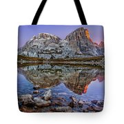Morning On Laghi Dei Piani Tote Bag by Dmytro Korol
