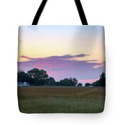 Morning Skies Over Gettysburg Tote Bag