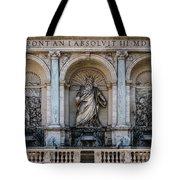 Moses Fountain Tote Bag by Jaroslaw Blaminsky