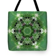 Mossy Green Tote Bag