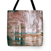 Mother Willow Altered Infrared Tote Bag