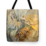 Mother's Day Flower Tote Bag