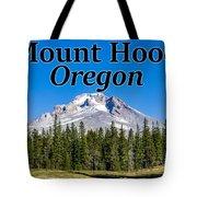 Mount Hood Oregon In Fall Tote Bag