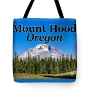 Mount Hood Oregon In Fall Tote Bag