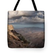 Mount Laguna At Dusk Tote Bag