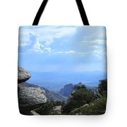 Mount Lemmon View Tote Bag