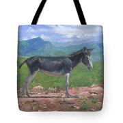 Mountain Donkey  Tote Bag