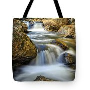 Mountain Stream Waterfall  Tote Bag
