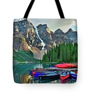 Mountain Tranquility Tote Bag