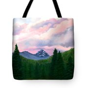Mountain And Sky Tote Bag