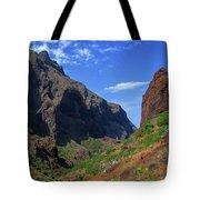 Mountains Of The Teno Massif Near Masca Tote Bag