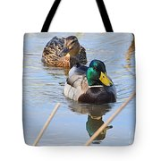 Mr And Mrs Duck Tote Bag