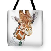 Mr Giraffe Tote Bag by Animal Crew