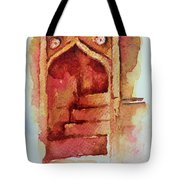 Mughal Architecture, Staircase Tote Bag