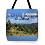 Muir Woods National Monument California Tote Bag