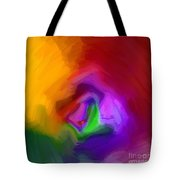 Multiple Colored Abstract By Delynn Addams Tote Bag