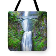Multnomah Falls Tote Bag by Dheeraj Mutha