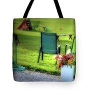 Muzeical Chairz Tote Bag