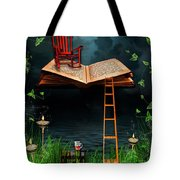 My Book Said Come Fly With Me Tote Bag