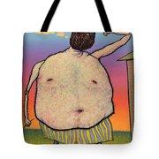 My Head Is A Raisin. Tote Bag