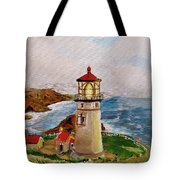 My Lighthouse Tote Bag