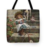 My Turn Next, 19th Century Tote Bag
